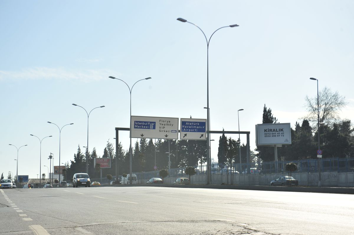Durukan Advertising Ataturk Airport Sign A-01