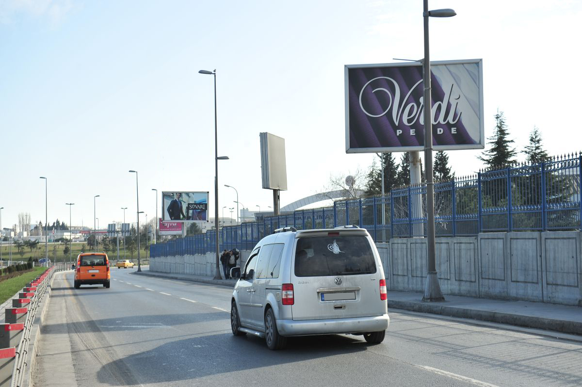 Durukan Advertising Ataturk Airport Sign A-06