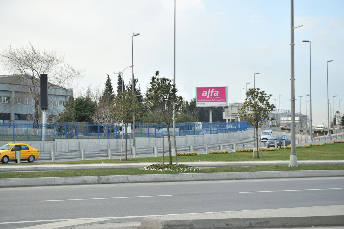 Durukan Advertising Ataturk Airport Sign A-07