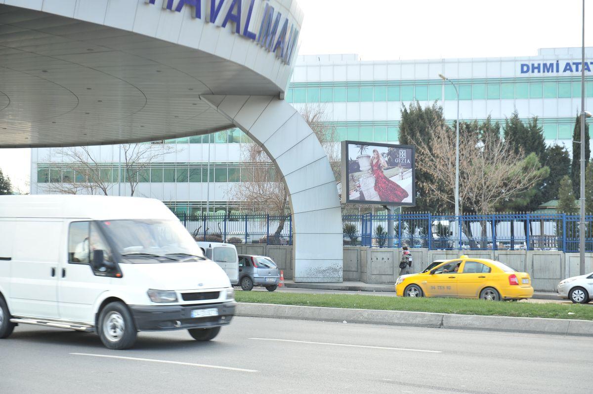 Durukan Advertising Ataturk Airport Sign A-08
