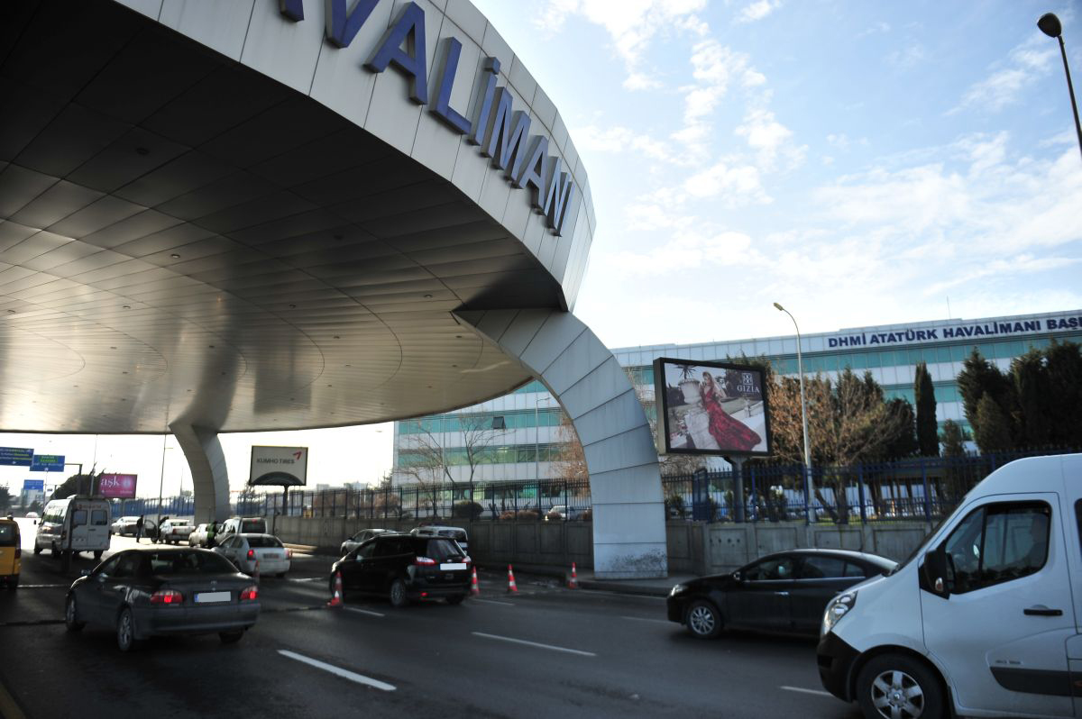 Durukan Advertising Ataturk Airport Sign A-09