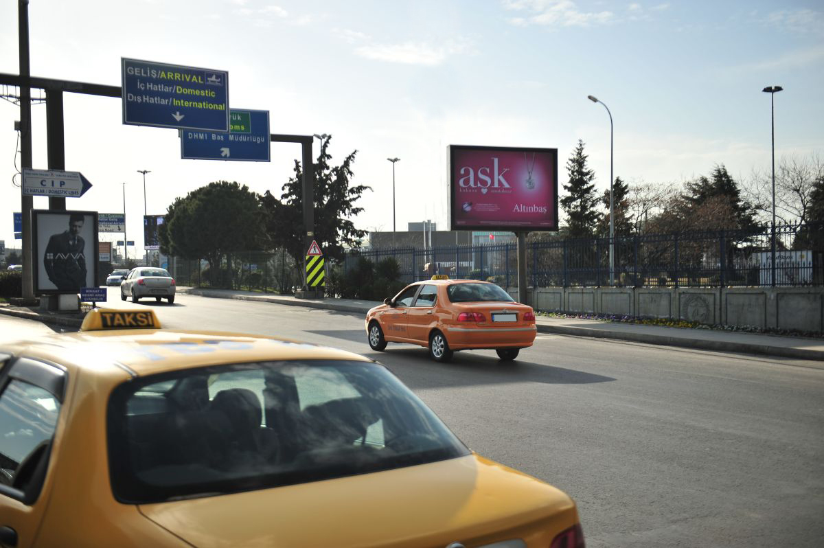 Durukan Advertising Ataturk Airport Sign A-10