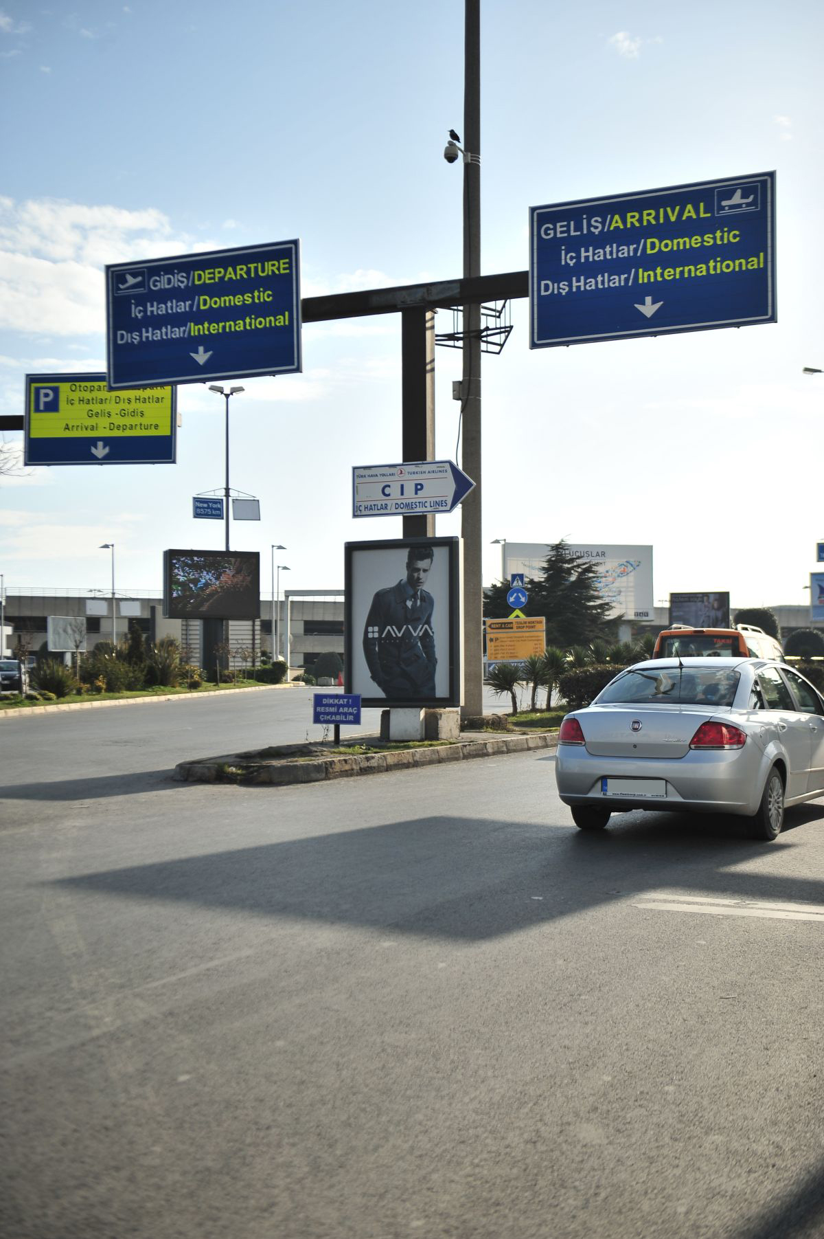 Durukan Advertising Ataturk Airport Sign A-13