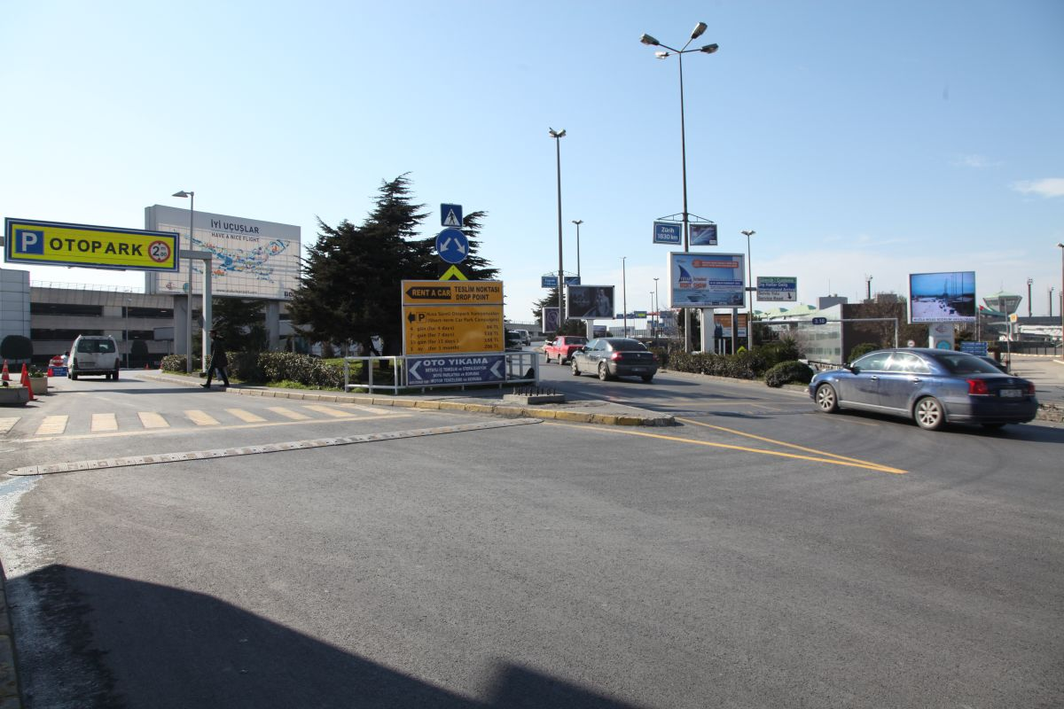 Durukan Advertising Ataturk Airport Sign A-14
