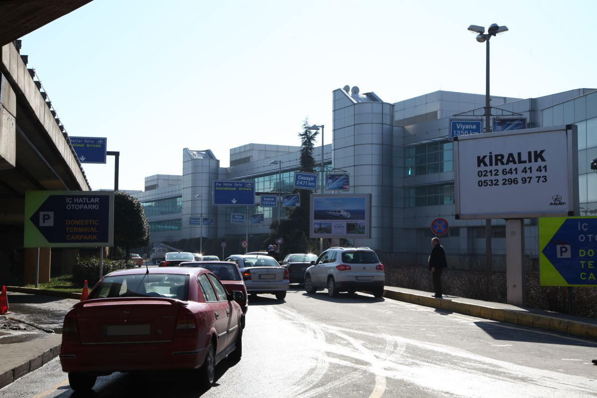 Durukan Reklam Ataturk Havalimani Pano A-18