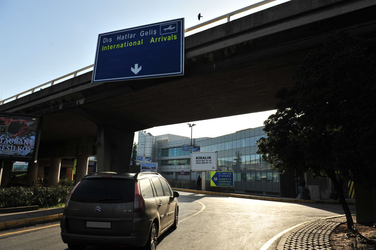 Durukan Advertising Ataturk Airport Sign A-18