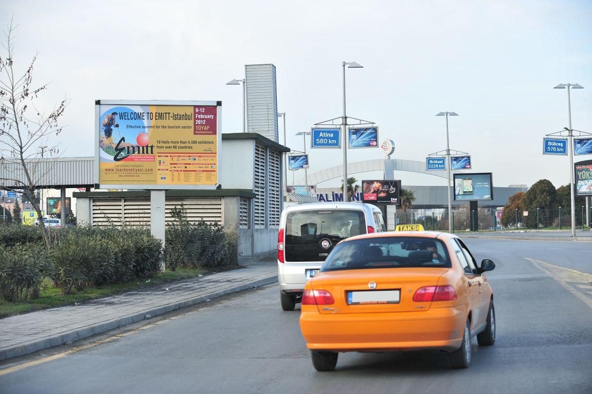Durukan Advertising Ataturk Airport Sign A-21