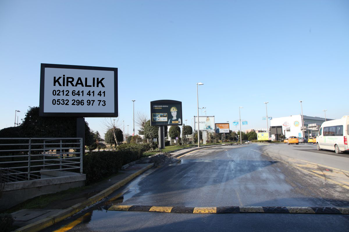 Durukan Advertising Ataturk Airport Sign A-22