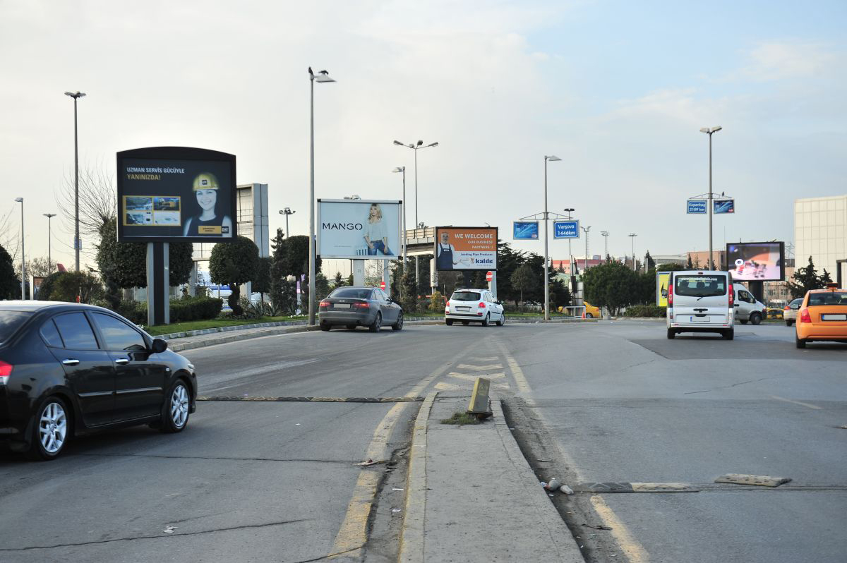 Durukan Advertising Ataturk Airport Sign A-24