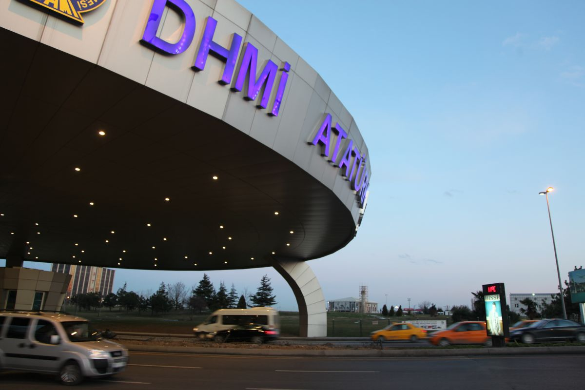Durukan Advertising Ataturk Airport Sign A-25
