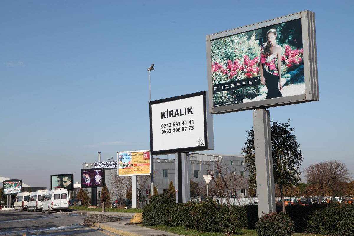 Durukan Reklam Ataturk Havalimani Pano A-27