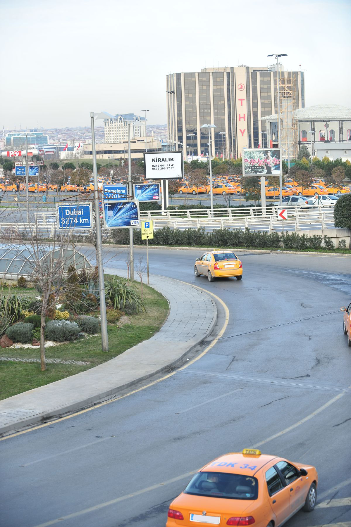 Durukan Advertising Ataturk Airport Sign A-28