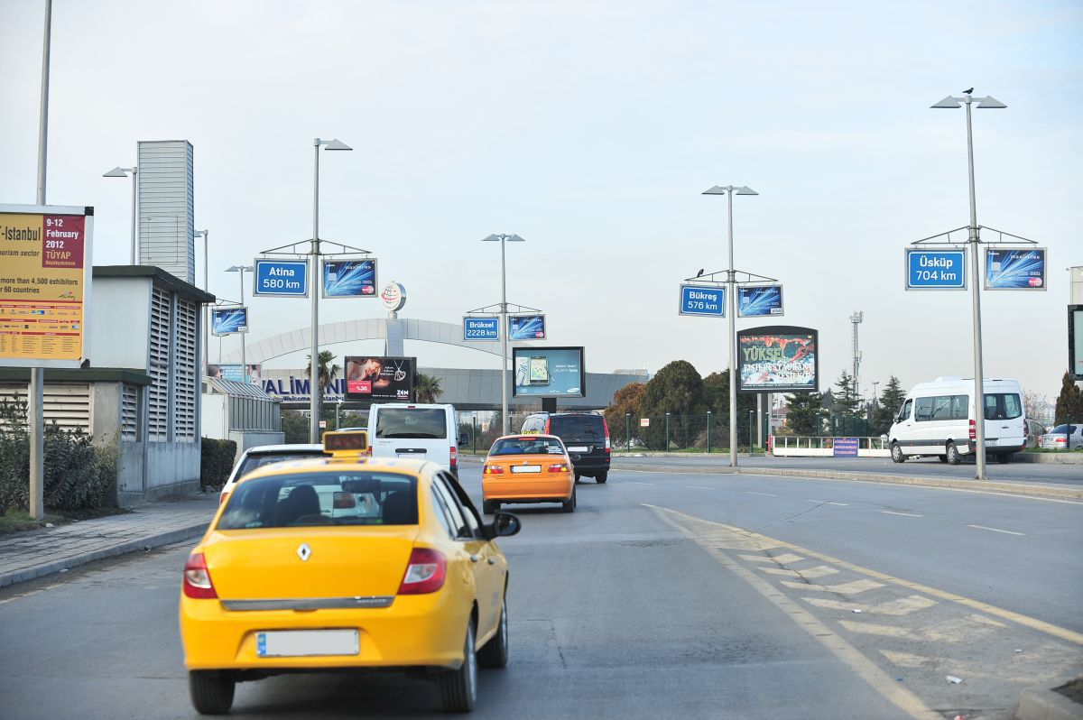 Durukan Advertising Ataturk Airport Sign A-30