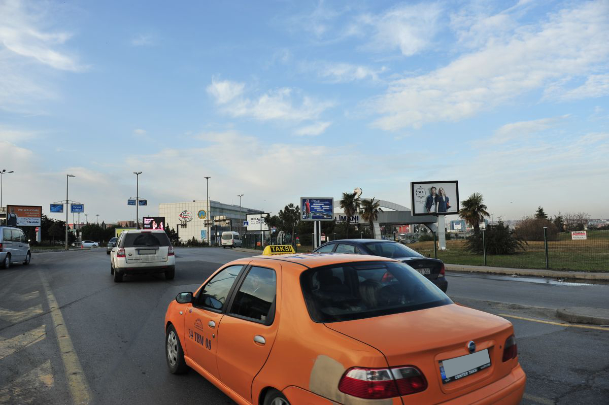 Durukan Advertising Ataturk Airport Sign A-31