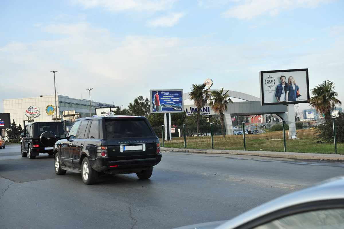 Durukan Advertising Ataturk Airport Sign A-32