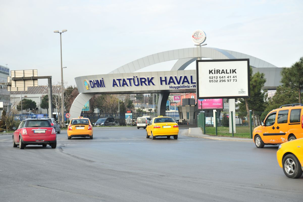 Durukan Advertising Ataturk Airport Sign A-33