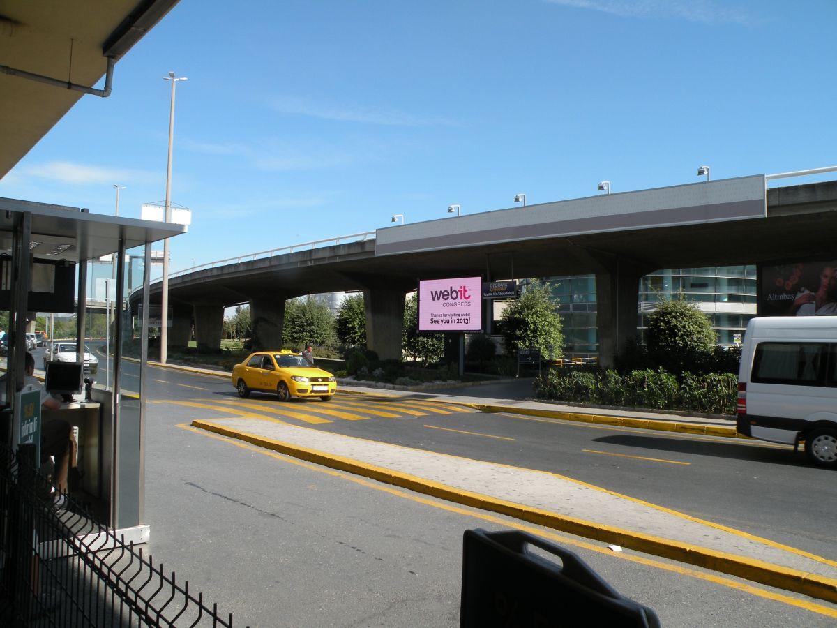 Durukan Advertising Ataturk Airport Sign L-02